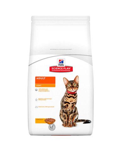 Hill's сухой корм для кошек (курица) 2кг