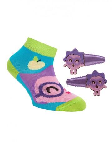Детские носки Малышарики 17С-26СП (с заколками для волос) рис. 264 Conte Kids