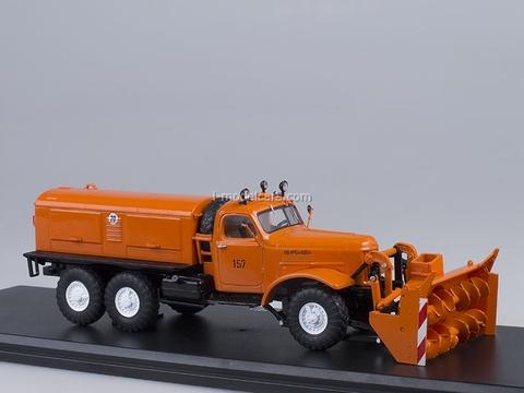 ZIL-157E D-470 Rotary Snow Removing orange 1:43 Start Scale Models (SSM)
