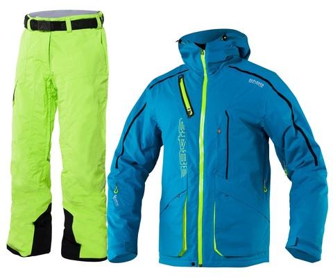 Костюм горнолыжный 8848 Altitude Phantom/Base 67 мужской Terquoise/Lime