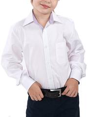 616D-2 рубашка для мальчиков, белая