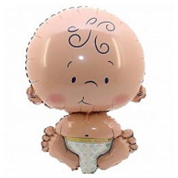 Фольгированные шары Фольгированный шар Малыш helium-ballon-baby-born-56cm.jpg