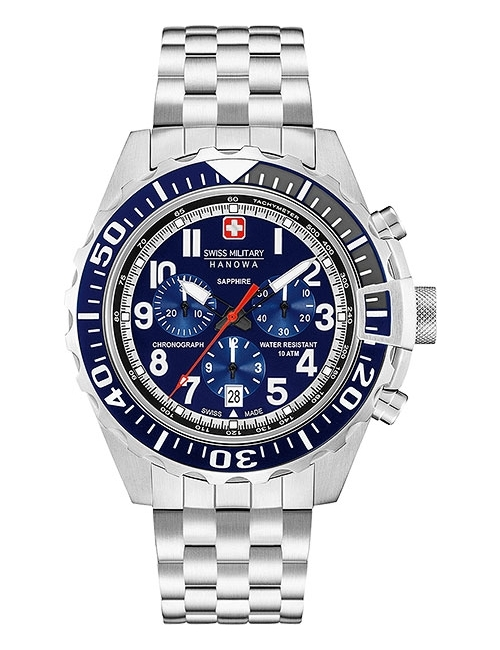 Часы мужские Swiss Military Hanowa 06-5304.04.003 Touchdown Chrono