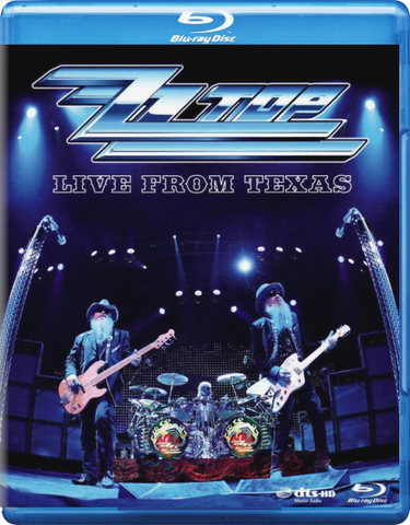 ZZ Top ‎/ Live From Texas (Blu-ray)