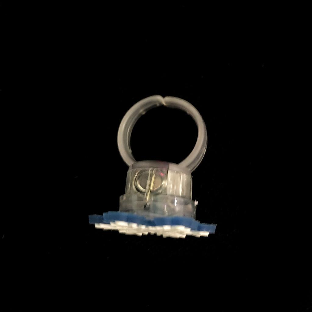 Новогодние светящиеся кольца Flashing Ornaments