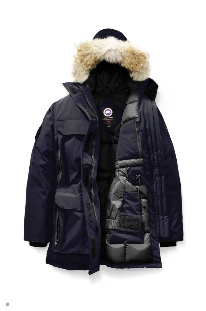 EXPEDITION PARKA WOMEN'S DARK BLUE 3840