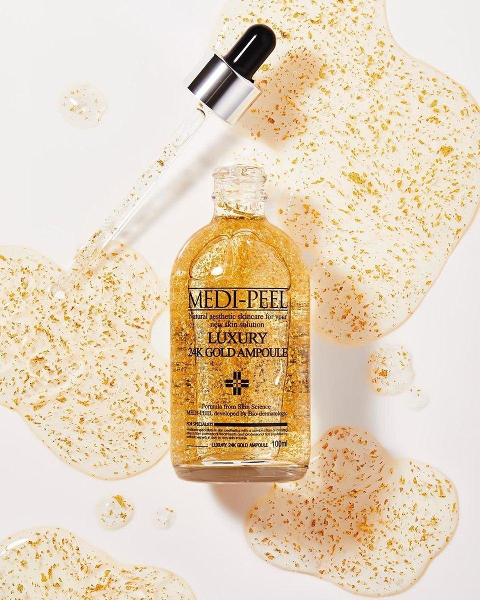 Ампула с золотом 24К для эластичности кожи MEDI-PEEL Luxury 24K Gold Ampule, 100 ml