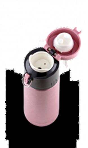 Термокружка LaPlaya Travel Tumbler Bubble Safe (0,35 литра), розовая