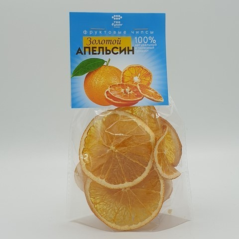 Фруктовые чипсы Апельсин БИОПРОДУКТ, 30 гр