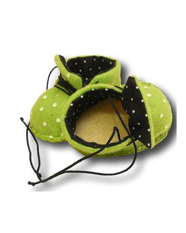 Ботиночки из фетра на подкладке - Детали. Одежда для кукол, пупсов и мягких игрушек.