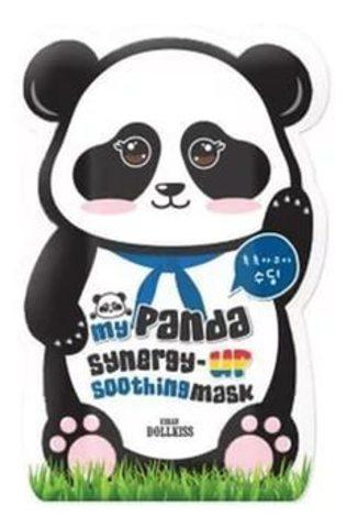 BAVIPHAT My Panda Маска для лица укрепляющая My panda synergy up shoothing mask pack