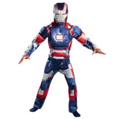 Детский костюм Железный человек Патриот — Iron Man Patriot
