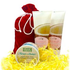 """Подарочный набор """"Кокосовое настроение"""" от 100% Pure и Organic Essence"""