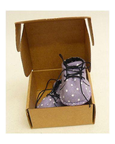 Ботиночки из фетра на подкладке - Упаковано. Одежда для кукол, пупсов и мягких игрушек.