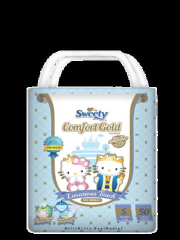 Подгузники Sweety Comfort Gold S 50 (3-6кг)