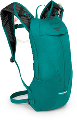 Рюкзак женский велосипедный Osprey Kitsuma 7 Teal Reaf