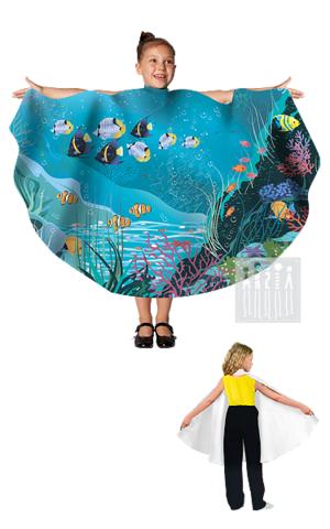 Фото Живые декорации Полупончо Море рисунок Карнавальные костюмы времена года - популярные образы детских утренников и досугов. В этом разделе представлены разнообразные модели времен года и явлений природы.