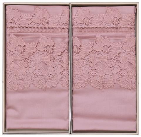 Постельное белье Gelin Home ESMA  темно-розовый евро