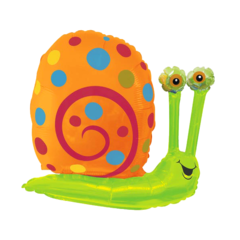 Фольгированный шар Улитка