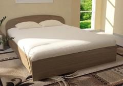 Кровать ЛДСП на 1200 мм (МК Стиль)
