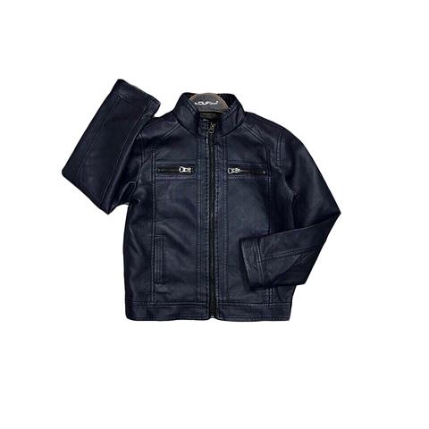 Куртка экокожа мальчику (5-12) 180918-014