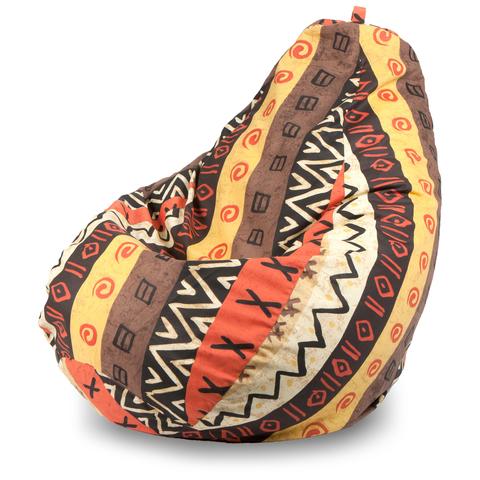 Бескаркасное кресло «Груша» XL, Африкан