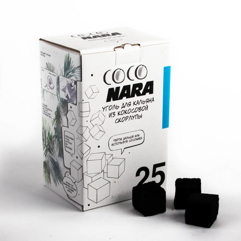 Уголь Coco Nara 1 кг 25 мм