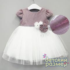 Платье 74-92 (лиф переливается)