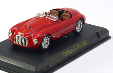 Ferrari 166 MM red 1:43 Eaglemoss Ferrari Collection #27