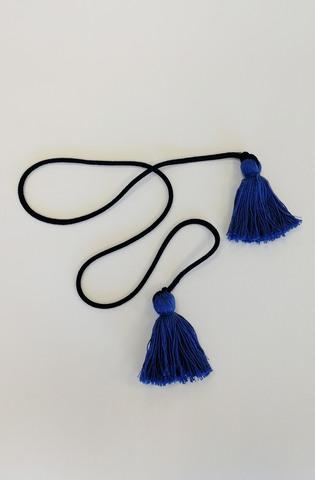 Пояс шнур с кисточками