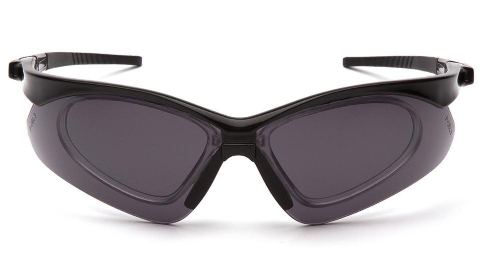 Очки баллистические тактические Pyramex PMXTREME SB6320STRX Anti-fog Diopter серые 23%