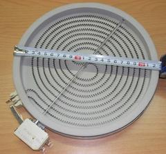 Конфорка для стеклокерамической варочной поверхности Аристон, Индезит и др. 97003, 92196