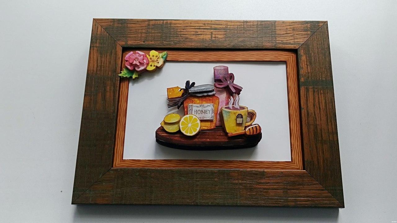 Папертоль Чай с медом — пример оформленной работы.