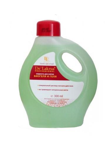 Жидкость для снятия биогеля De Lakrua 300мл