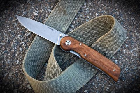 Складной нож Байкер-1 Полированный Орех