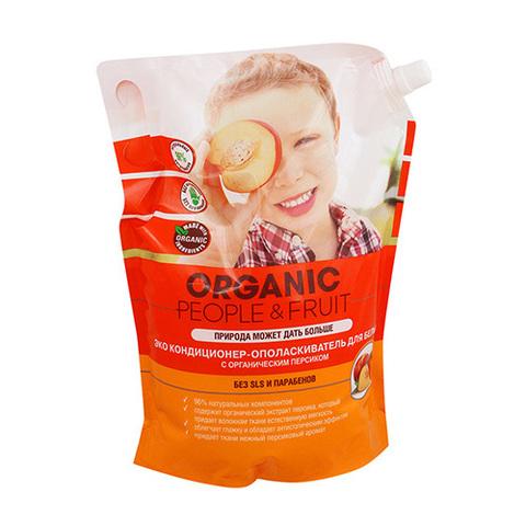 ORGANIC People & Fruit кондиционер для белья с органическим персиком 2 л.