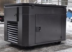Шумозащитный всепогодный миниконтейнер для генератора со встроенным АВР