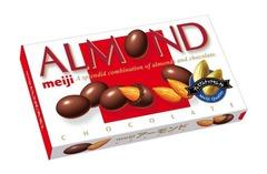 Миндаль в шоколаде MEIJI 88 гр.