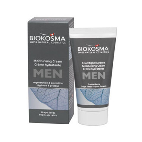 Увлажняющий крем для лица мужской Biokosma, 50 мл ДО 12.2018