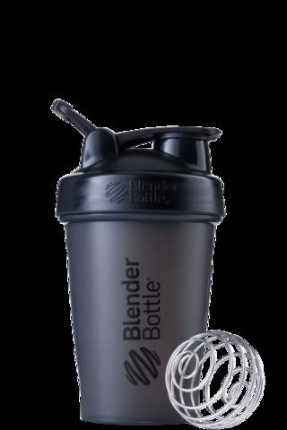 BlenderBottle Classic Шейкер классический с венчиком-пружинкой черный 591 мл