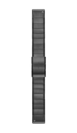 Титановый браслет Garmin QuickFit 22 мм серый