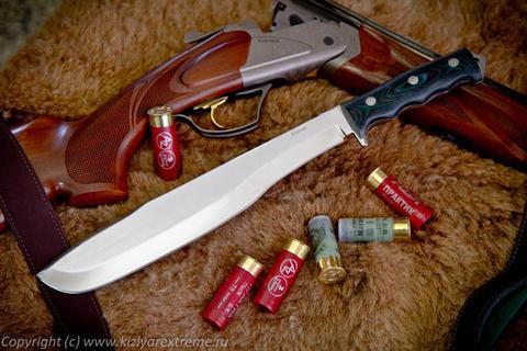 Охотничий нож Кайман Полированный Микарта