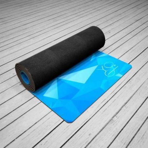 Коврик для йоги Antarctica 173*61*3мм из микрофибры и каучука