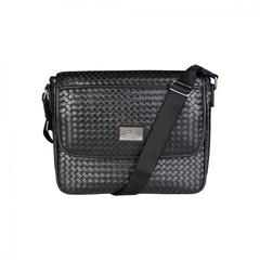 Мужская сумка мессенджер Versace V1969 GRD-YCA072-2_WOVEN_NERO