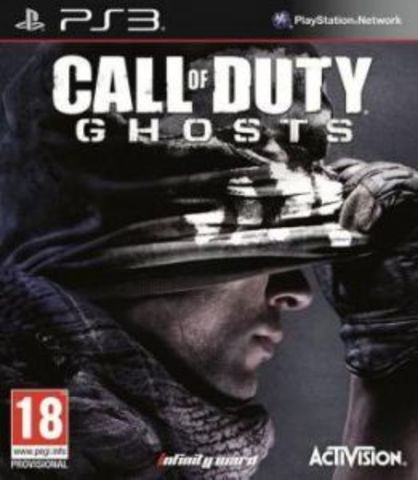 PS3 Call of Duty: Ghosts - Free Fall Edition (английская версия)