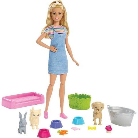 Барби Игровой Набор Душевая Питомцев
