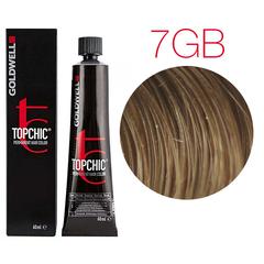 Goldwell Topchic 7GB (песочный русый) - Cтойкая крем краска 60мл