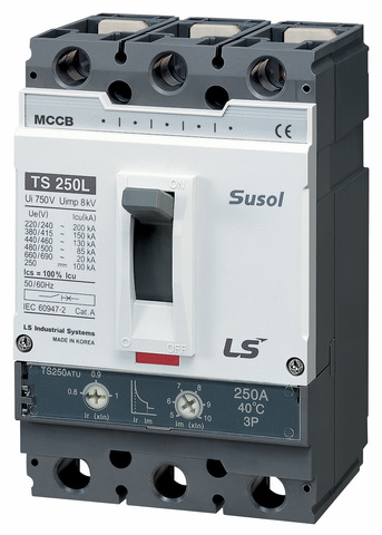 Автоматический выключатель TS250H (85kA) FMU 250A 3P3T
