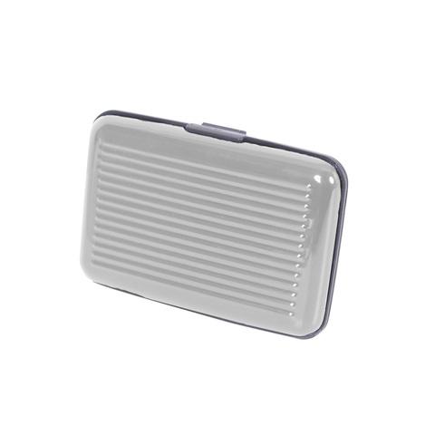 Кредитница защитная алюминивая для кредитных карт Security Credit Card Wallet серебристый