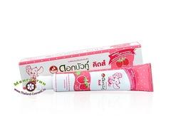 Зубная паста для детей старше 3 лет Dok Bua Ku со вкусом клубники,Twin Lotus